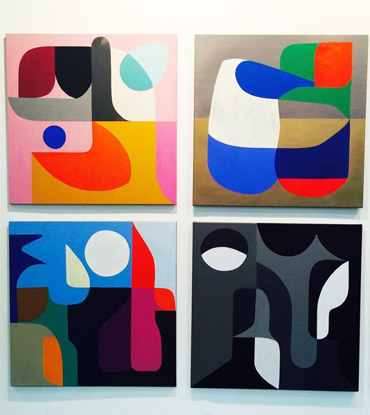 Stephen Ormandy, Olsen Irwin, paintings and sculptures at Art15: