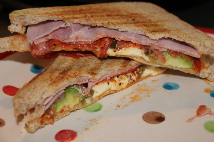 Sandwich with a crunch