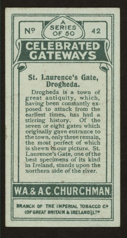 St. Laurence's Gate, Drogheda. - NYPL Digital Collections