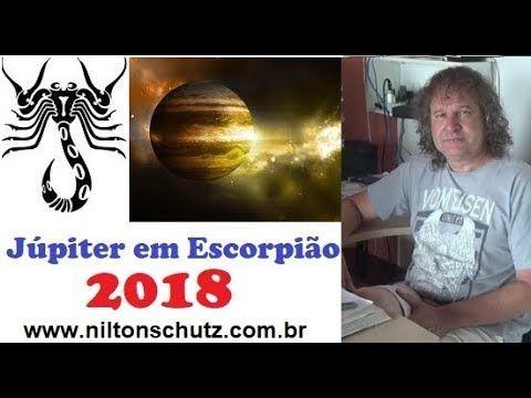 Júpiter em escorpião - Astrologia 2018