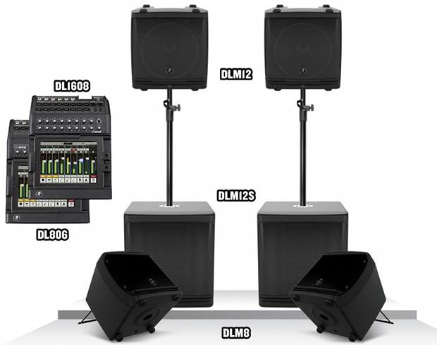 Gearjunkies.com: Mackie Delivers Next Level of PA Innovation and Technology with DL/DLM PA System