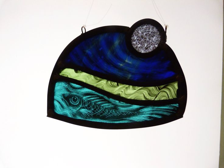 Designed and made by Sarah Roberts Stained Glass Art