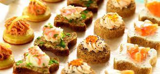 canapes salados gourmet recetas - Buscar con Google