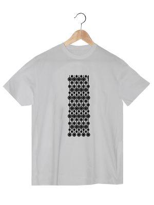 Camiseta en algodón orgánico en color blanco para chico VCBH  www.strambotica.es