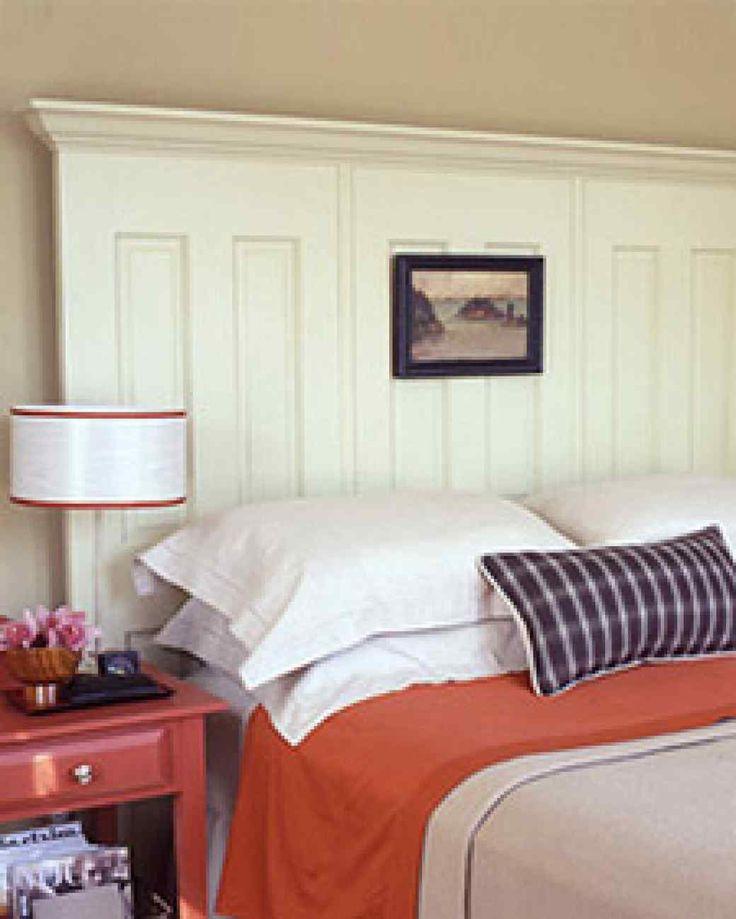 740 best images about cool ideas on pinterest door for How to make a headboard out of a door