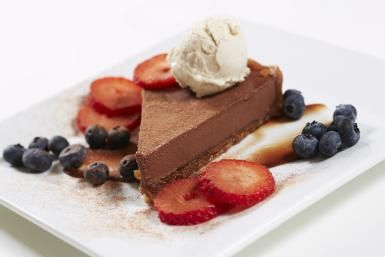 Heavenly Homemade Chocolate Pie with Whipped Topping: Chocolate Pie With Cocoa