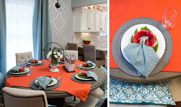 Set Your Table For Spring (http://blog.hgtv.com/design/2014/03/04/set-your-table-for-spring/?soc=pinterest)Property Brother