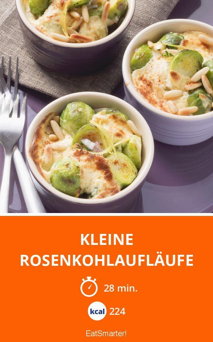 Kleine Rosenkohlaufläufe - smarter - Kalorien: 224 Kcal - Zeit: 28 Min. | eatsmarter.de