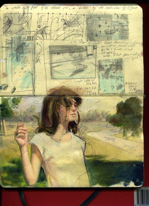 Sketchbook #sketchbook #drawing #draw