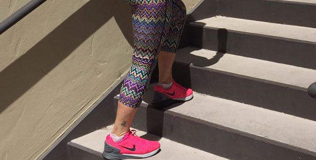 The Ten Minute Stair Workout You Can Do At Home: This stair routine is the perfect do-anywhere cardio workout. by Chris Freytag April 14, 2015 @preventionmag