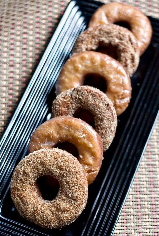 Apple Cinnamon Doughnuts | Food | Pinterest