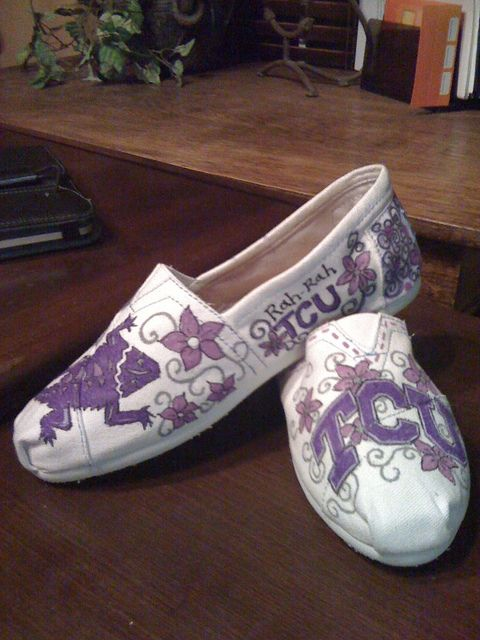 Another view of TCU Toms