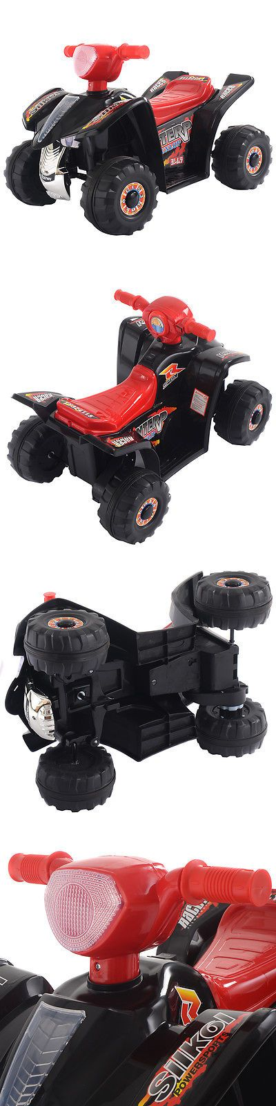 Ride On Toys and Accessories 145944: 6V Kids Ride On Atv Quad 4 Wheeler Electric Toy Car Battery Power Led Lights -> BUY IT NOW ONLY: $45.99 on eBay!