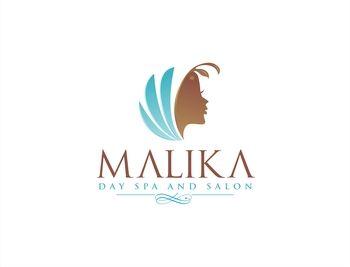 "Logo Design Spa & Esthetics - Desain Logo untuk ""Malika Day Spa and Salon"" - #124"