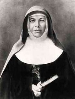 Australia's First Saint Mary Helen MacKillop (1842-1909), by unknown photographer, c1870.  Established many schools in South Australia.
