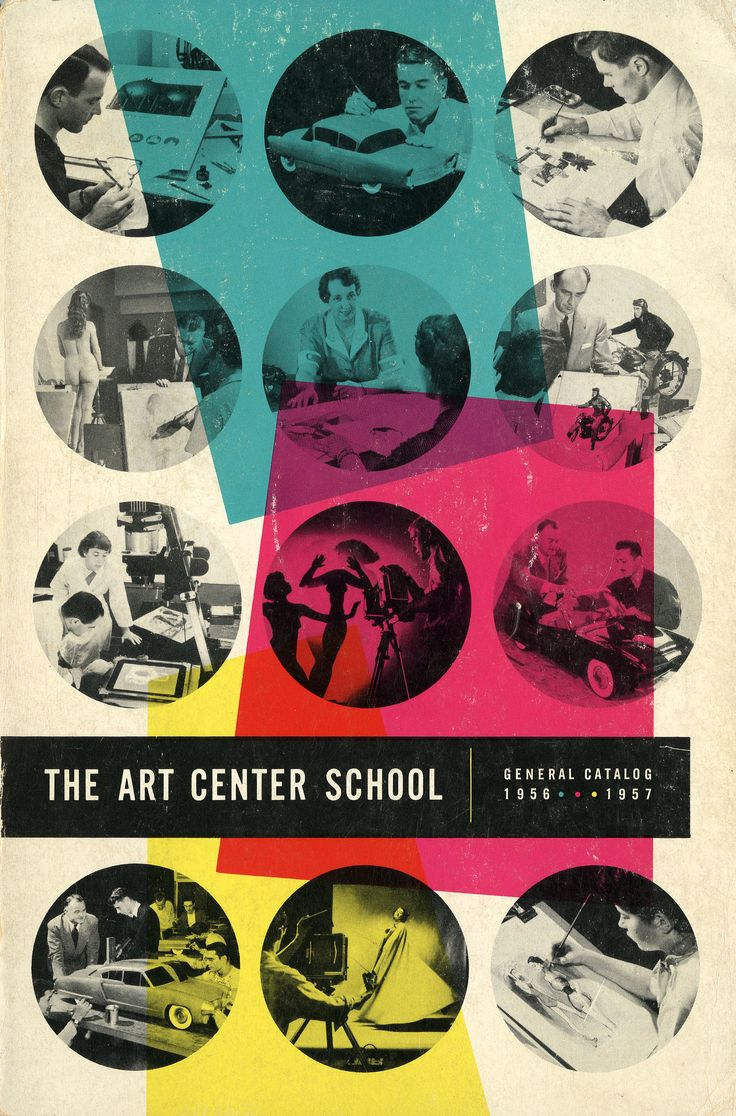 Art Center catalogue cover, 1956