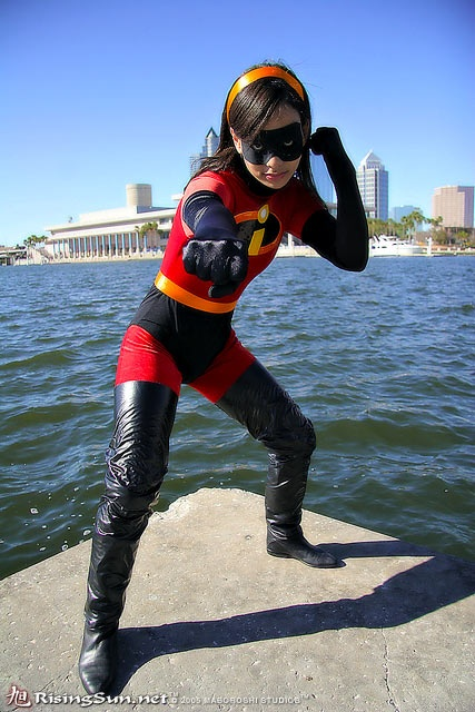 Violet, Incredibles cosplay. Incredible Incredibles cosplay. #disney #pixar