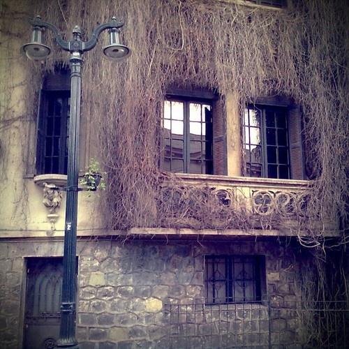 La Casa Barbuda. Barrio Lastarria. Santiago de Chile