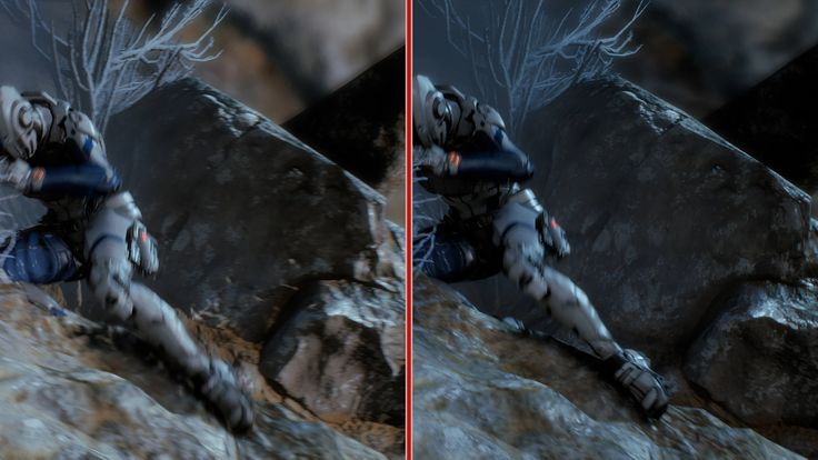 Mass Effect: Andromeda Graphics Comparison - PS4 vs. PS4 Pro Take a detailed look at what visual enhancements the 4K PlayStation 4 Pro version of Mass Effect: Andromeda has to offer. March 16 2017 at 09:05PM  https://www.youtube.com/user/ScottDogGaming
