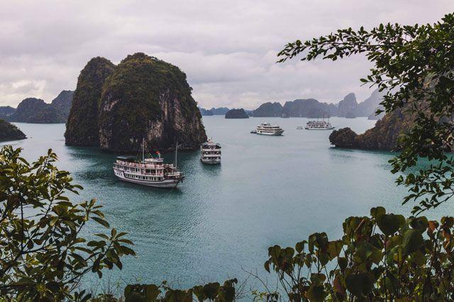 Bai Tu Long Bay // So schön ist die Tour abseits der #Halong Bucht #Vietnam #Dschunke #Boot