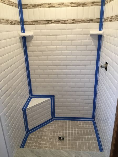 Avoid Cracked Grout: Caulk Tile Shower Corners Part 30