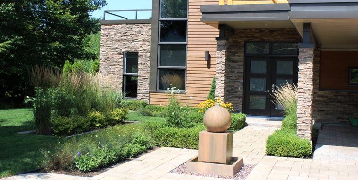 17 best ideas about am nagement paysager contemporain on for Amenagement jardin contemporain