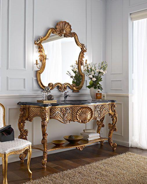 Italian Classic Luxury Handmade Bathroom Furniture.