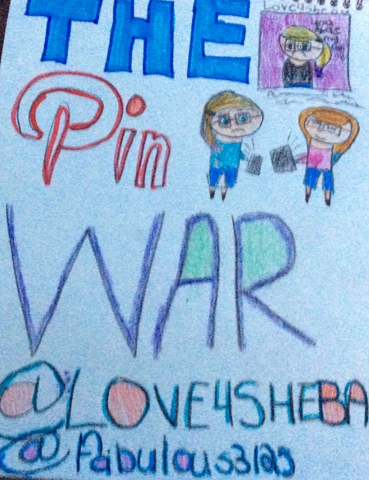 Me and @fabulous3125 are doing posters for The Pin War (T.M.)
