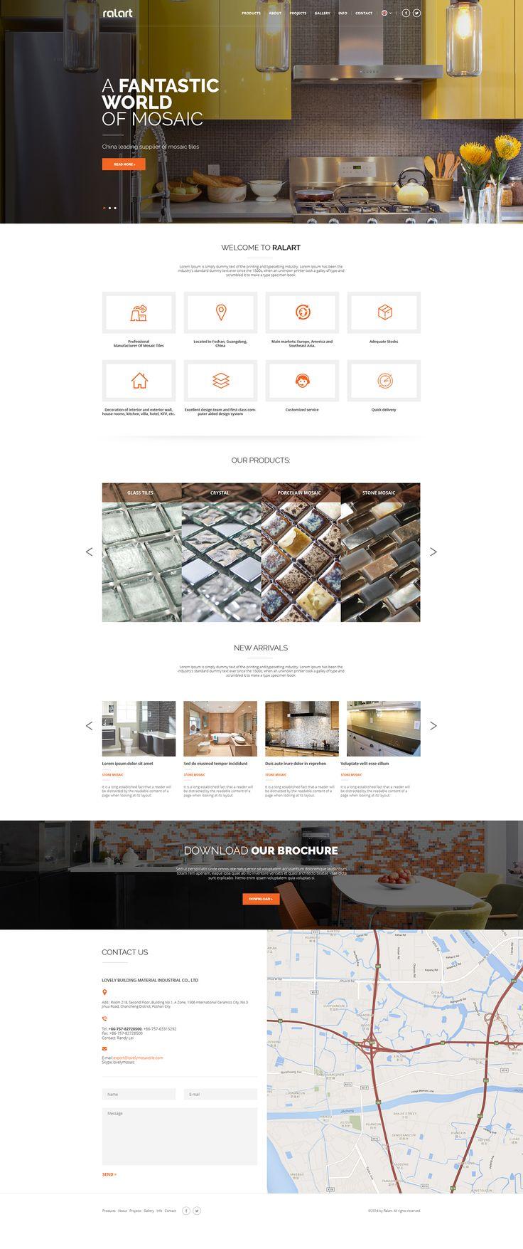 Ralart e-commerce site on Behance