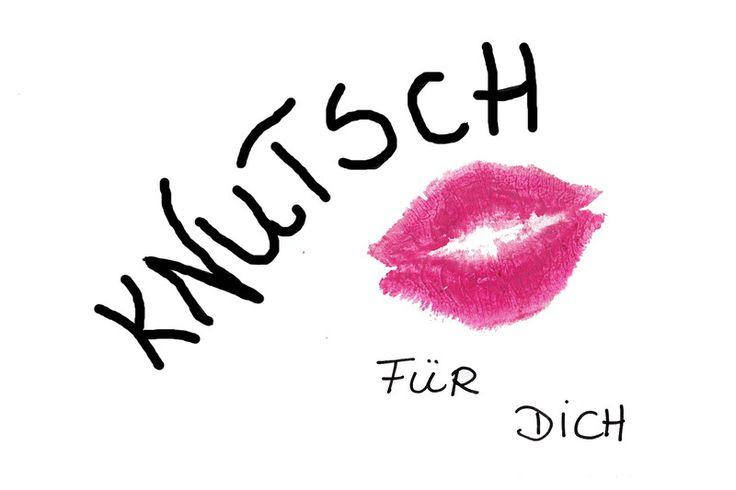 Knutschmund - Knutsch für dich von Digital-Art auf DaWanda.com