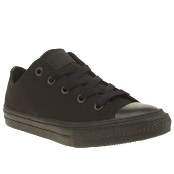 Converse Black Chuck Taylor Ii Ox Unisex Junior Comfort and style go hand-in-hand, as the Converse Chuck Taylor II Ox arrives for kids. The updated version of the classic plimsoll arrives in durable black canvas, with a Lunarlon sockliner for extra http://www.MightGet.com/january-2017-13/converse-black-chuck-taylor-ii-ox-unisex-junior.asp