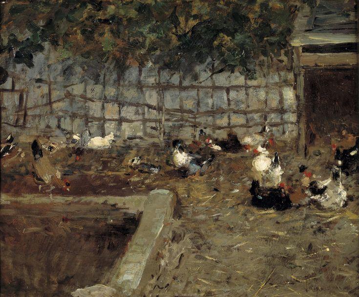 Corral, 1869. Óleo sobre lienzo, 38 cm x 46 cm. Museo del Prado.