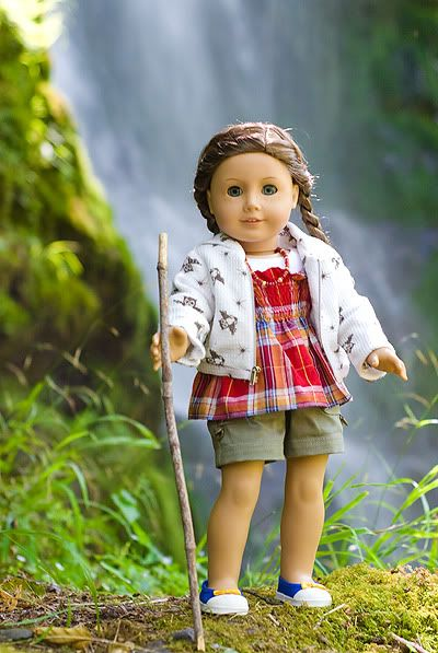 sewing inspiration and cute hairstyle, Pleasant Piper: Chasing Waterfalls