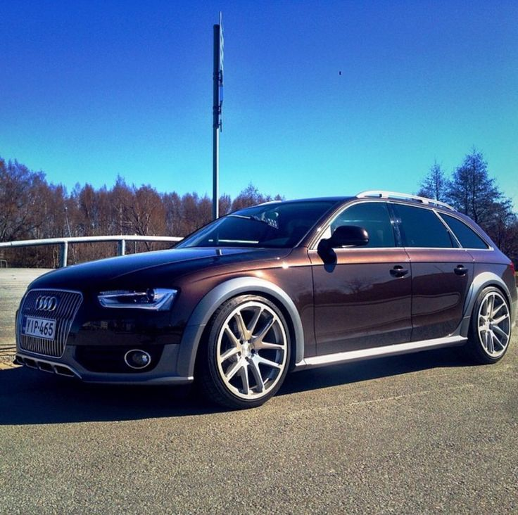 Audi Allroad with Rotiforms