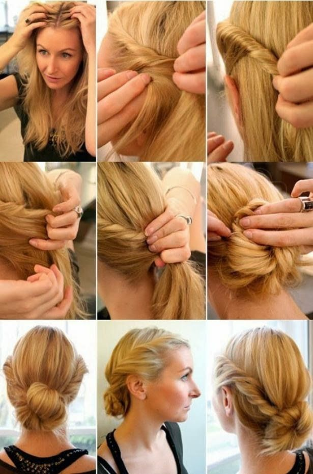 The Romantic Twist. Wedding hair.