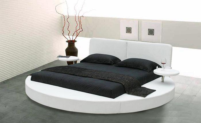 Круглые кровати в спальне - для кого это чудо? - http://mebelnews.com/mebel-dlya-spalni/kruglye-krovati-v-spalne-dlya-kogo-eto-chudo.html