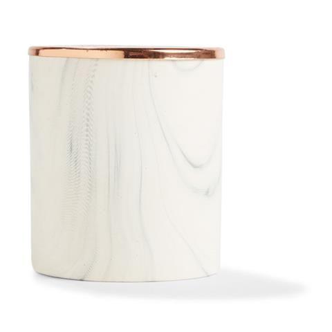 Scented Candle with Marbled Holder - Sandalwood & Cedar   Kmart