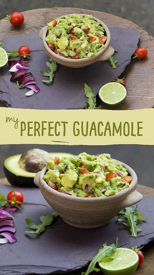 Perfect guacamole recipe - yum!