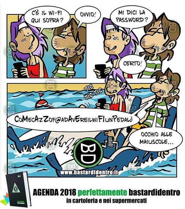 Gioca con questa vignetta su www.youtube.com/bastardidentro Scopri i video che non hai visto e usa le nostre… www.bastardidentro.it