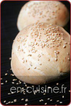 Recette petits pains pour hamburgers maison au Thermomix