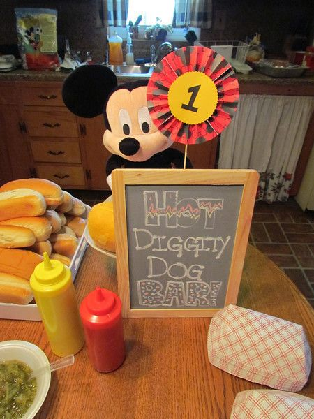 """Mickey Mouse 1st Birthday"" 