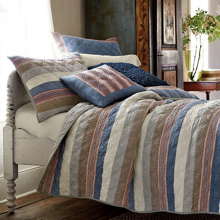 Grayson Handmade QuiltHandmade Quilts,  Comforters, Laid Back Quilt, Grayson Quilt, Bedrooms Beds,  Puff, Grayson Handmade, Bedrooms Ideas, Quilt Beds