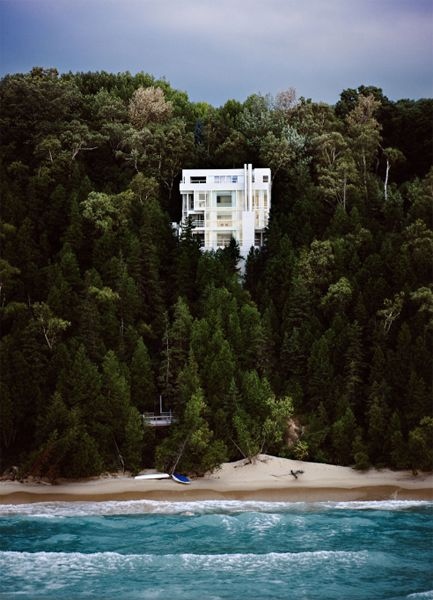 : Dreams Home, Beach House, The Ocean, Dreams House, Cars Girls, Lakes Michigan, White House, Beachhouse, Richard Meier