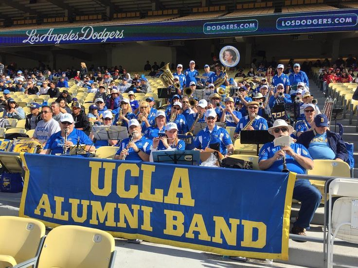 THINK BLUE: Playing for the UCLA Baseball game vs. USC at Dodger Stadium today! #GoBruins #BeatSC #AlumniBand40 by uclalumniband