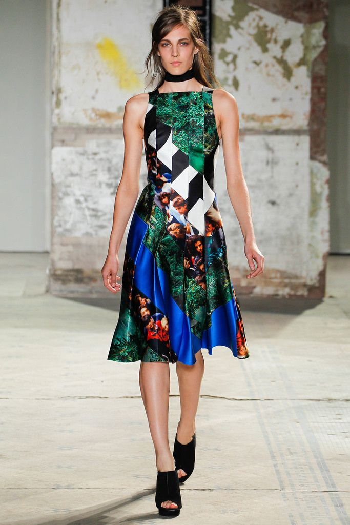 Holy crap I want this NOW! SPRING 2013 READY-TO-WEAR  Proenza Schouler.