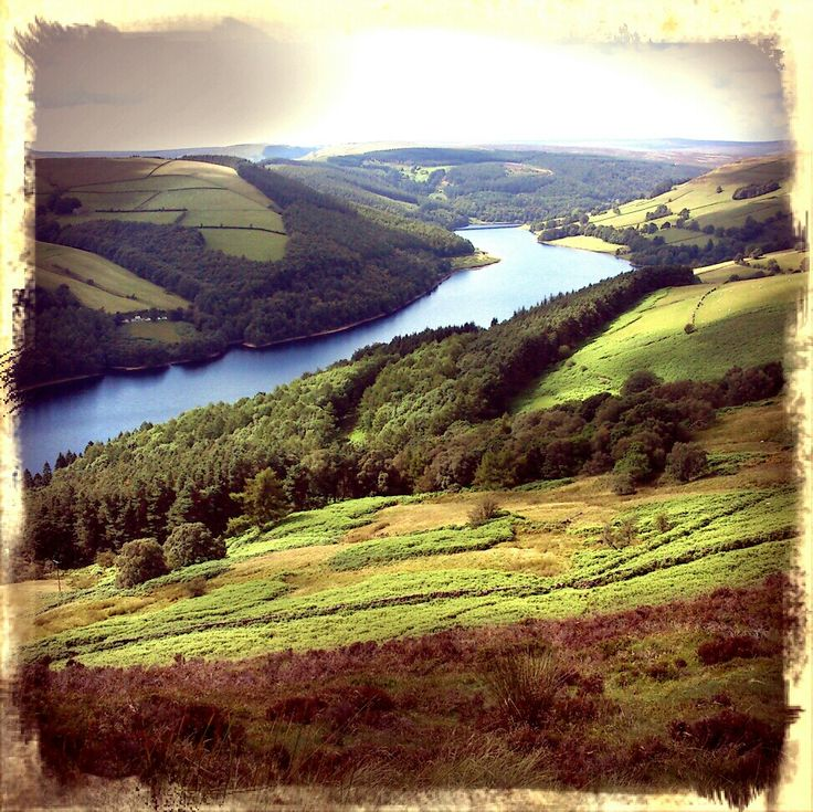 Ladybower reservoir, Peak District