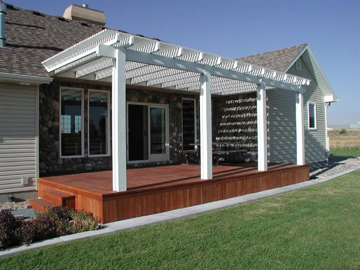 carport deck combination knudson 39 s alumawood pergola