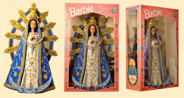 Barbie Virgen de Lujan