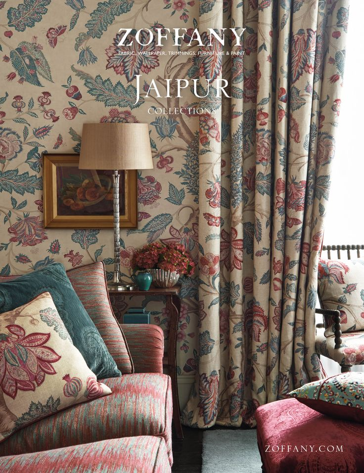 JAIPUR AUTUMN 2014 The Jaipur set of collections plays on and updates a strong tradition of using Indian and Persian designs in the decoration of English Country House interiors.