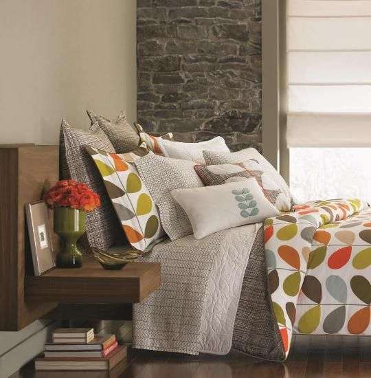 I think this would be perfect in our master bedroom! Orla Kiely
